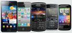 עלייה במכירות הטלפונים החכמים