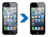 החלפת מסך LCD   מגע מקורי לאייפון 5