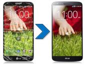 החלפת מסך LCD   מגע מקורי ל-LG G2