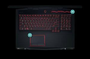 להיט מחשבי משחקים-AlienWare M17x מחשב נייד כולל טכנולוגיה Tobii IR Eye-tracking